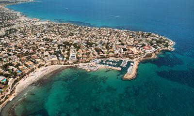 Küste Alicante Luftbild