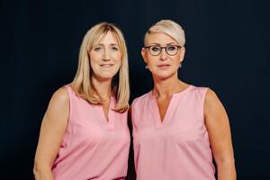 Sabine Tiehen und Daniela Rausch