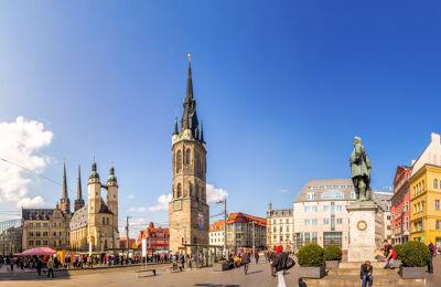 Stadtkern von Halle