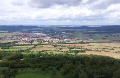 Landschaft Coburg