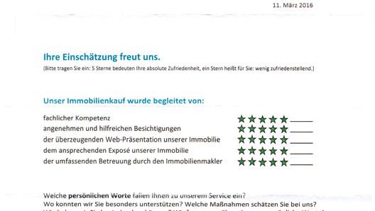 Bewertung - Schulze