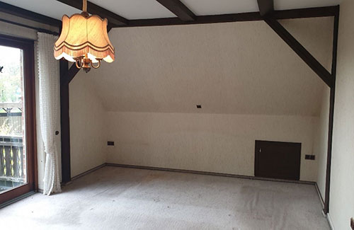 Home Staging-Beispiel Schlafzimmer
