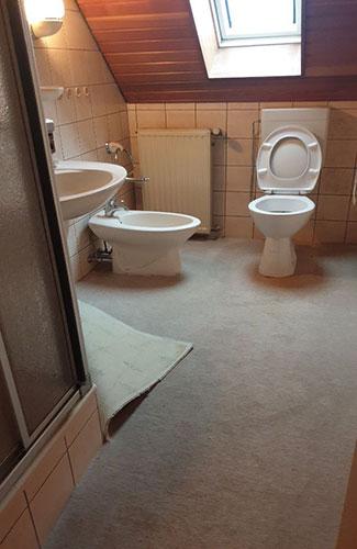 Home Staging-Beispiel Duschbad