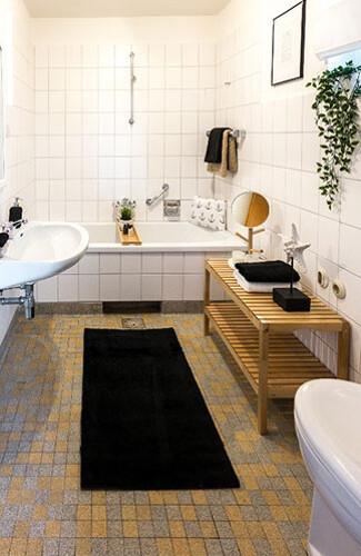 Home Staging-Beispiel Badezimmer