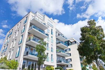 Wohnungen mit Balkons
