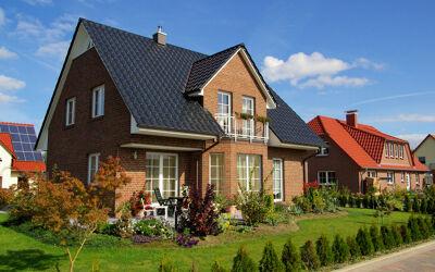 Modernes Einfamilienhaus Klinker