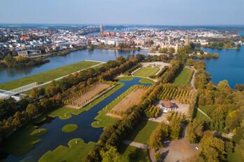 Schlossgarten in Schwerin