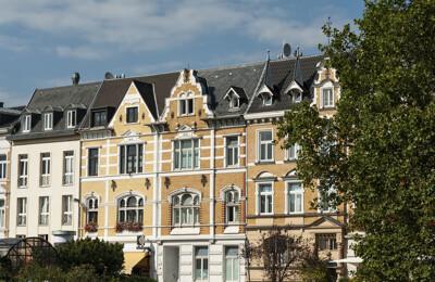 Wohnungsfassaden