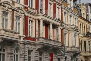 Jugendstilfassaden im Aachen Frankenberger Viertel