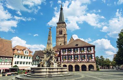 Marktplatz von Schwabach