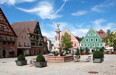 Marktplatz von Roth