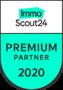 Logo Immoscout24 Premium Partner 2020