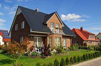 Verklinkertes Einfamilienhaus