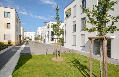 Moderne Mehrfamilienhäuser in Neuss
