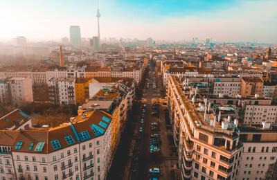 Wohnblock in Berlin