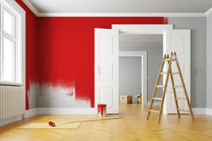 Haus wird renoviert