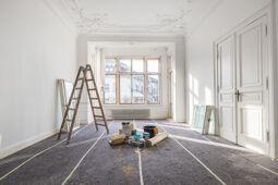 Renovierungsarbeiten zur Wertsteigerung einer Immobilie