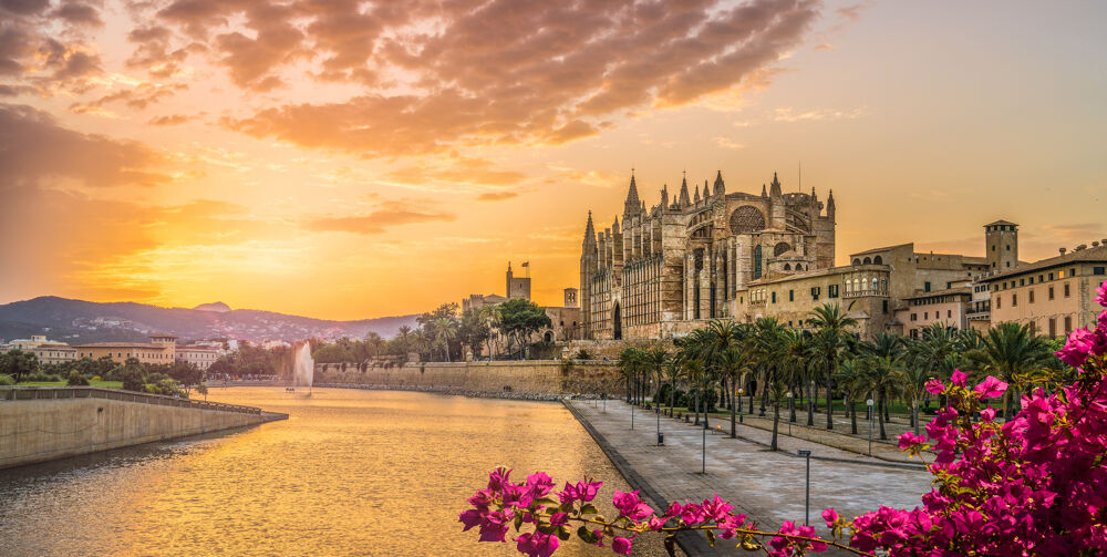 Mallorca im Sonnenuntergang