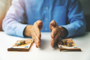 Geldaufteilung