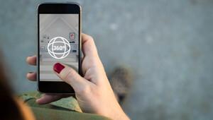 Smartphone mit virtuellem Rundgang