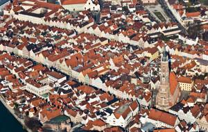 Landshut Luftaufnahme