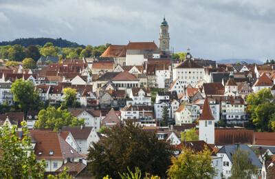 Zollernstadt Hechingen auf der Schwabischen-Alb