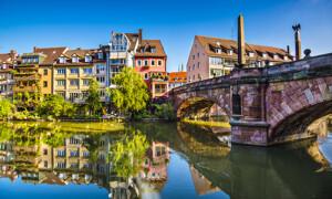 Fluss in Nürnberg