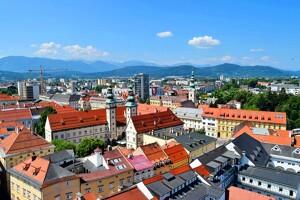 Häuser in Klagenfurt
