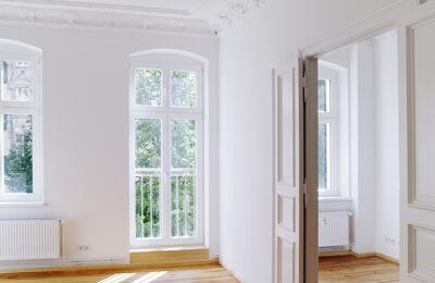 Helle Wohnung weiß
