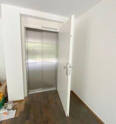 Aufzug bis in die Wohnung