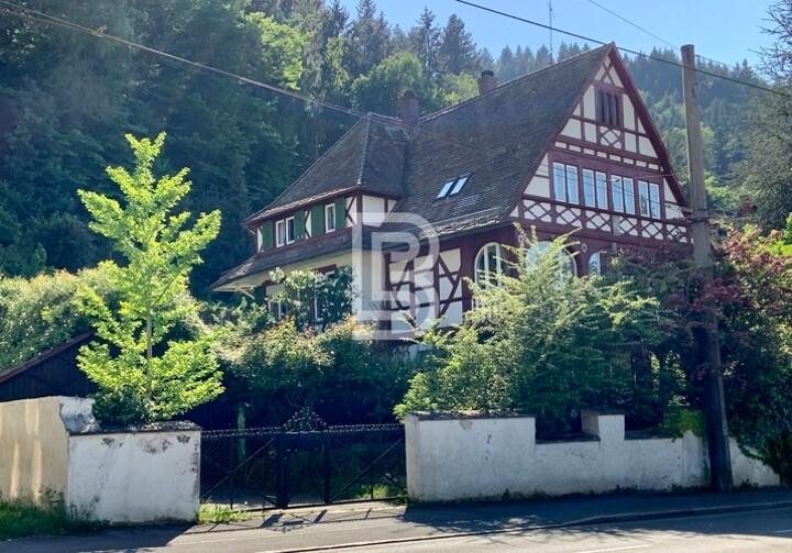 Denkmalgeschützte Villa für Altbauliebhaber
