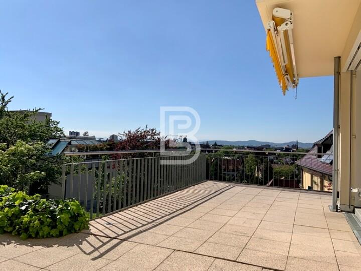 Exklusive 3-Zi-Wohnung mit Sonnenterrasse