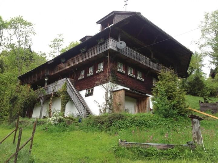 Freistehendes Schwarzwaldhaus am Bach