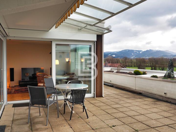 Terrassenwohnung mit Blick ins Dreisamtal