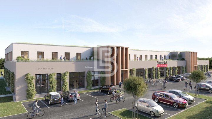 Hochwertige Büroflächen im Neubau