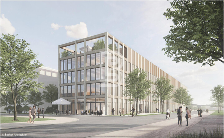 Neue Büros am Güterbahnhof Nord