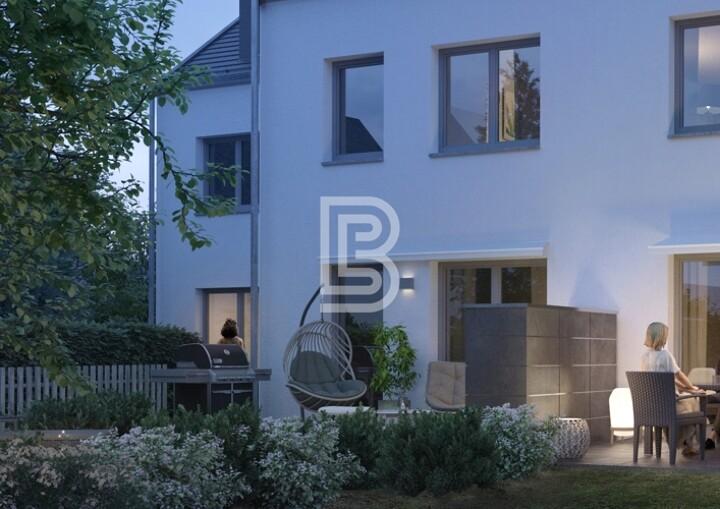Modernes Reihenmittelhaus mit Garten