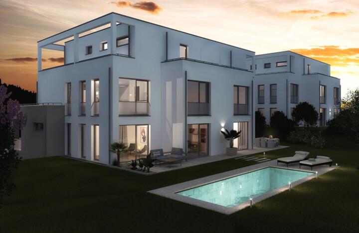 Neubau-Maisonette-Wohnung mit Ausblick