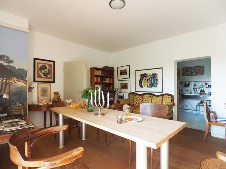 Möblierte Wohnung mit Sonnenbalkon