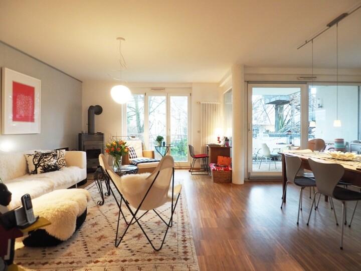 Moderne Wohnung in der Wiehre mit Flair