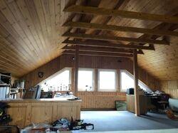 Spitzboden Garage