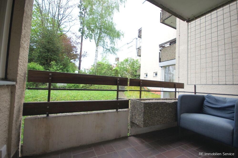 1-Zimmer Stuttgart Miete Wiedenmayer (Balkon)