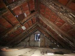 Dachboden obere Ebene