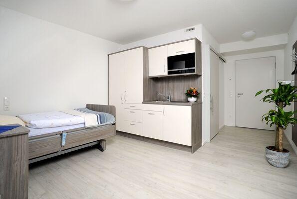 Wohn- und Schlafraum Beispiel