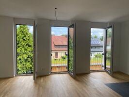 Blick nach draußen - Wohnzimmer