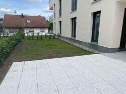 Terrasse mit Gartenstück