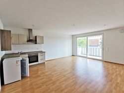Wohnzimmer mit Küchenecke
