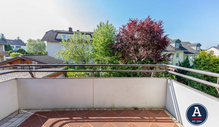 Einer der beiden Balkone