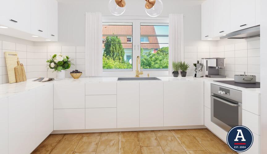 Küche Nachher (Beispiel)