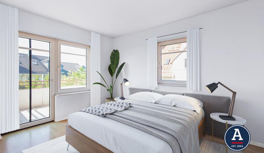 Schlafzimmer Nachher (Beispiel)